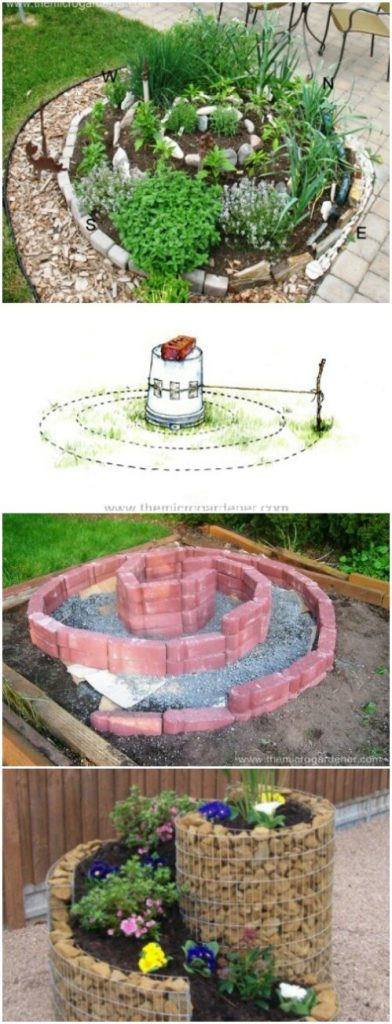 9. Build an Herb Spiral