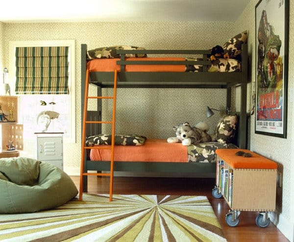 #3 THIS BUNK BEDROOM STRIKES ME AS A BOY
