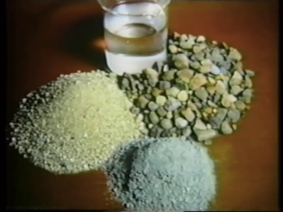 Concrete ingredients