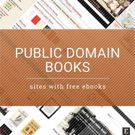 The best sites that offer public domain free ebooks and audiobooks legally