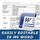 easily editable in ms word