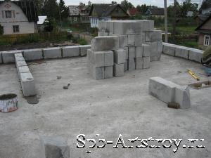стройка дома готов первый этаж