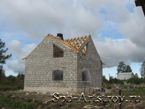 дом из пенобетона готов