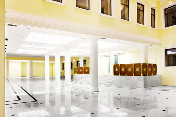 Бизнес центр реконструкция здания