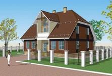 Металлокаркасные дома и коттеджи