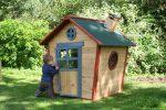 Как сделать маленький домик из дерева – 75 фото идей, чертежи и строительство