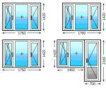 Стандарт окно – Размер окна стандарт для частных и панельных домов по ГОСТу