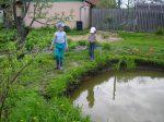Укрепление пруда георешеткой – Все способы укрепления берегов пруда своими руками