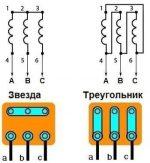 Схема подключения 3 фазного двигателя – Схемы подключения трехфазных электродвигателей