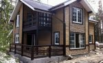 Каркасная обшивка дома стеновыми панелями – Отделка фасада каркасного дома: 9 вариантов наружной отделки