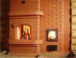 Кирпичная печь для дачи на дровах – виды, особенности, инструкция по кладке + видео