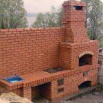 Печь мангал фото – печи и мангалы, фото и схемы, постройка послойно, барбекю из кирпича и бетона, фото, видео