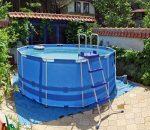 Фото бассейна на даче – 6 идей + 40 фото